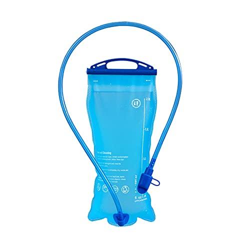SUNFLOWER CLAN 給水ボトル ハイドレーション パック ソフトボトル ビックジップ 給水袋 ウォーターキャリー 2L アウトドア スポーツ ジョギング ハイキング 登山 ランニング 防災 折りたたみ水筒 無臭