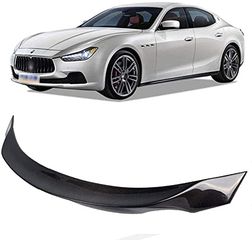 Qualità ABS Fibra Carbonio Auto Spoiler Alettone Posteriore Spoiler Dell'Auto Accessori, Per Maserati Ghibli 2014 2015 2019