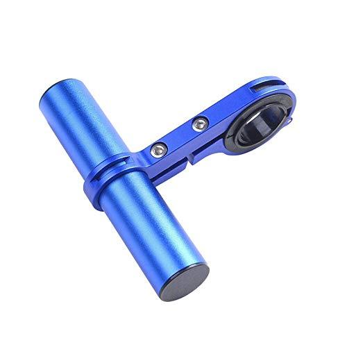 Extensión de manillar de bicicleta Aleación de aluminio titular de la linterna manija de la barra accesorios de bicicleta extensor tubo de carbono soporte de bicicleta montar el marco de coche