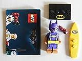 The LEGO Batman Movie™ Vacation Batgirl 71020 Coltlbm2-09 - Figura de Vacation Batgirl con 1 tenedor Galaxyarms y Katana en dorado
