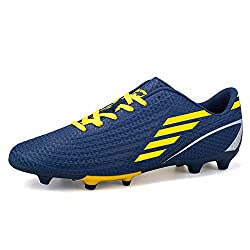 Blue and Yellow DoGeek Junior Football Boot