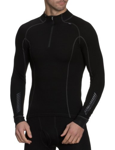 Helly Hansen Hh Warm Freeze 1/2 Zip Turtle Sous-vêtement technique haut homme Noir - S