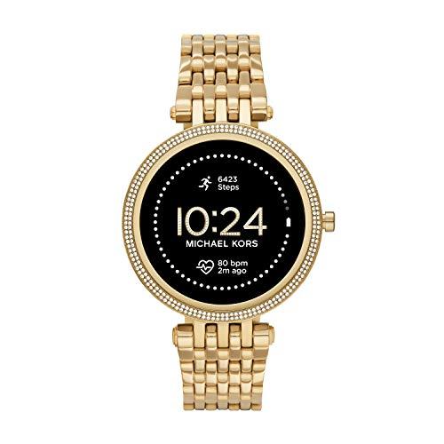 Michael Kors Women's Darci Gen5e Stainless Steel Touchscreen Smartwatch , Color: Gold (Model: MKT5127)