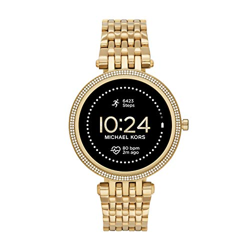 Michael Kors Women's Darci Gen5e Stainless Steel Touchscreen Smartwatch ,...