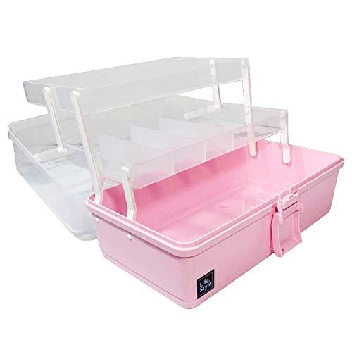 WEWLINE Art Supply Box 3-Layers Pla…