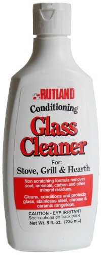 Rutland Products Hearth and Grill Conditioning Glass Cleaner, 8 Fluid Ounce