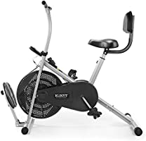 Klikfit KF04F Metal Exercise Cycle, Silver & Black