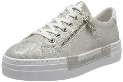 Rieker Damen N49C2 Sneaker, grau, 40 EU