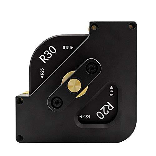 QUUY houten plaat router tafel bits Jig voor houtbewerking snelle verandering R hoek freesmachine voor rand van de fotolijst, rand van de tafel, de rand van de kleine bank
