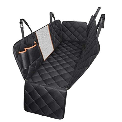 Funda protectora impermeable para asiento trasero de coche para mascotas, resistente al agua