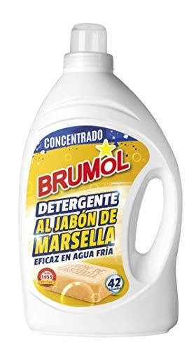 Brumol Detergente Marsella, 42 Lavados - Paquete de 4 x 2770 ml - Total: 11080 ml