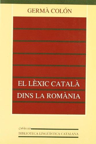 El lèxic català dins la Romània: 12 (Biblioteca Lingüís