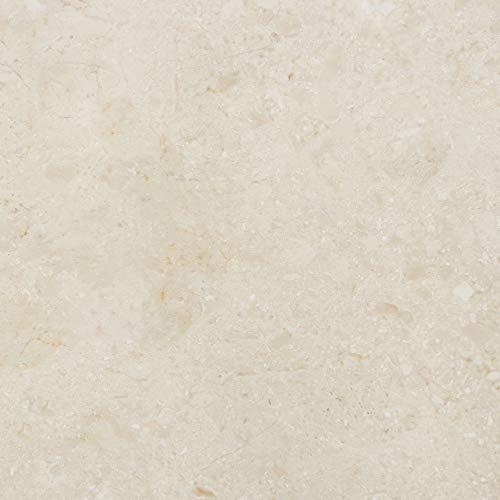PrintYourHome Fliesenaufkleber für Küche und Bad | Dekor Marmor Beige Natur | Fliesenfolie für 20x20cm Fliesen | 102 Stück | Klebefliesen günstig in 1A Qualität