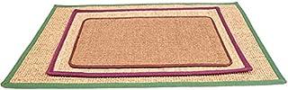 Onwaymall Natuurlijke Sisal Hennep Kat Scratch Board Mat Sofa Protector Pad Krabpaal Toy Willekeurig (60x90cm, willekeurig)