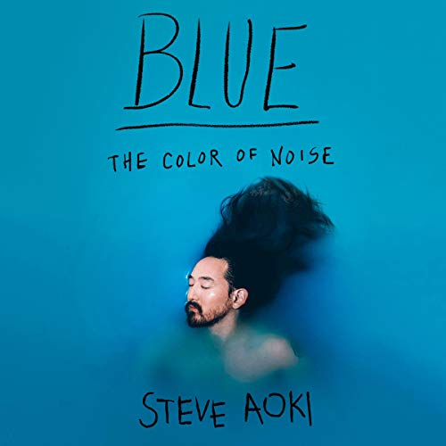 Blue audiobook cover art