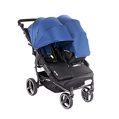 NUEVA Silla Gemelar Easy Twin 3.0.S con capota reversible de paseo Baby Monsters - Color Midnight + REGALO de dos mantas para silleta