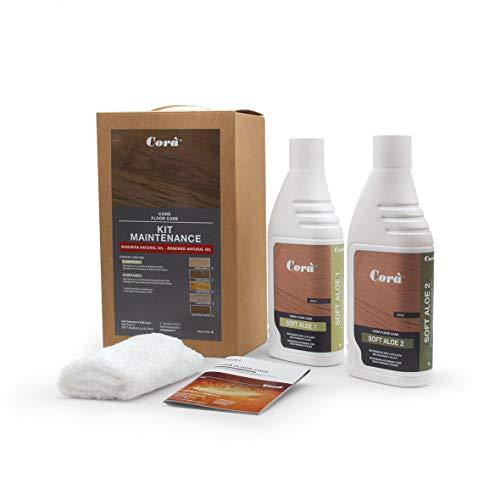 Detergente Parquet Professionale - Pulizia e manutenzione pavimento in legno oliato - Kit Maintenance - Natural Oil - 1...