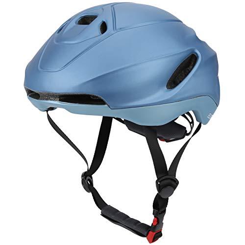 Jingyig Casco de Bicicleta, Desmontable 17 Agujeros Cómodo Casco de Bicicleta Ultraligero de Alta Resistencia, para Bicicleta de Ciclismo(Navy, M)