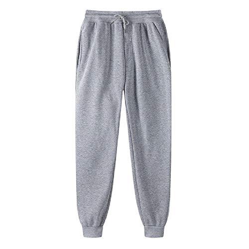 N\P Color sólido pantalones casuales de los hombres con cordón de longitud completa pantalones delgados lápiz pantalones hombres
