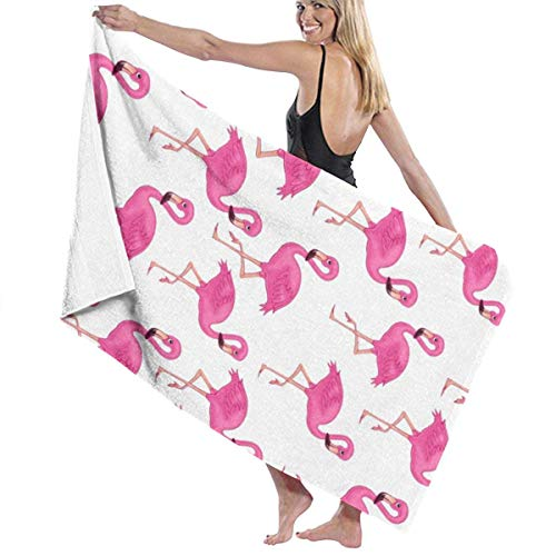AEMAPE Flamingos Badetuch Badetücher Badetuch Strandtuch Schal Bademantel...