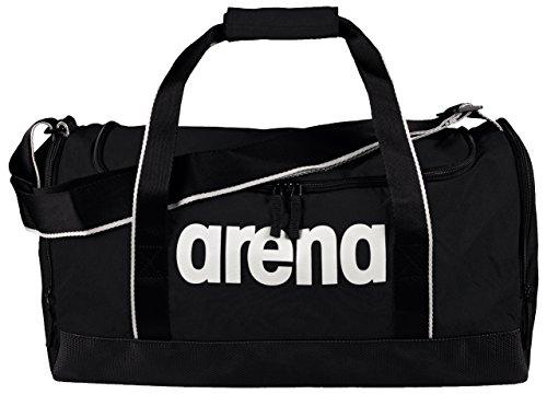 arena Unisex Sporttasche Schwimmtasche Spiky 2 Gross (Geräumig, Wasserabweisend, Schnelltrocknend, 51x23x26cm), schwarz (Black Team), One Size