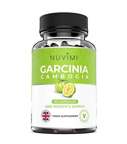 Garcinia Cambogia (90 Capsules) – High 1500mg Daily Dosage of Garcinia...