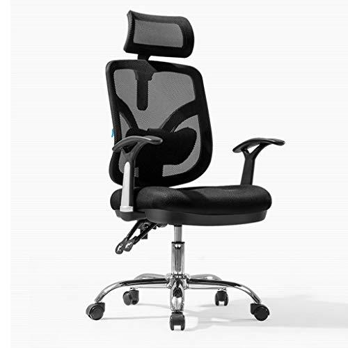 Huocilin Computerstoel, ergonomisch, bureaustoel, draaibaar, thuis, zitting, patroon, kantelbaar