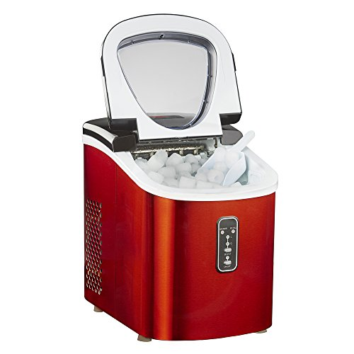 Ice Maker Machine Counter Top 13kg Capacity Fast Compact with Cube Size...