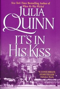 Hardcover It's In His Kiss (Bridgerton series, Volume 7) Book