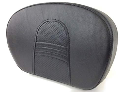 Sissy Bar Backrest Passenger Pad with Street Glide Stitch Stitching for 1994-2020 Harley Davidson Touring Tourer like Electra Glide Classic Ultra Road King CVO SissyBar Seat Back Rest ref 51633-06 06A
