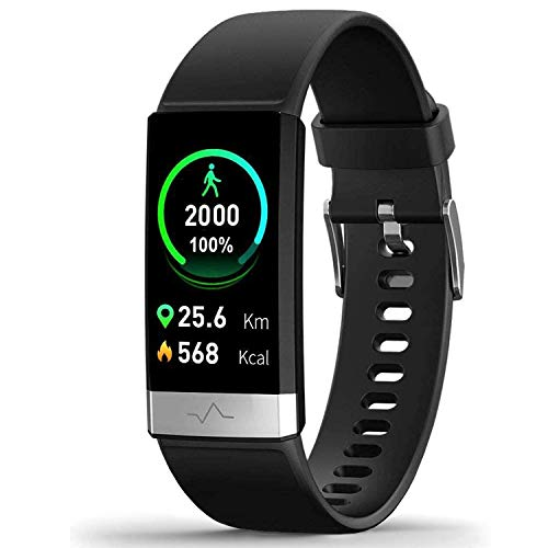 MorePro Heart Rate Monitor Blood Pressure Fitness Activity Tracker with Low O2...