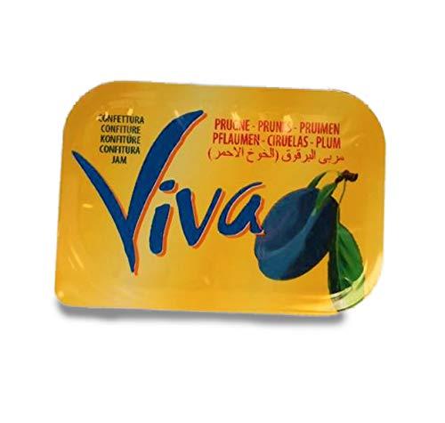 VIVA - Marmellata monodose 25gr per 120 pezzi (Prugna)