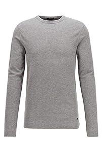 BOSS Herren Tempest Sweatshirts, Grau (Light/Pastel Grey), L EU
