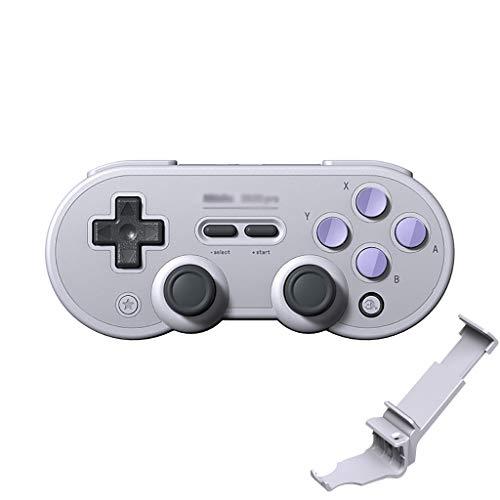 WXLSQ Manette sans Fil Manette De Jeu avec Joysticks Rumble Vibration USB-C Câble Gamepad Contrôleur De Jeu PC Compatible avec Nintendo Commutateur Windows, Mac OS, Android, Vapeur, Etc,Violet