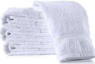 Pepperonz Eco Cotton Towel Set - 4 Pcs (White, 76x152)
