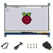 7 Pouces C LCD 1024 * 600 écran Tactile Win10 HDMI Interface capacitif Monitor Display pour Raspberry pi4/3 B+/3B/2 B/B+/A