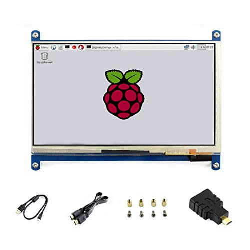 7 inch C LCD 1024 * 600 Touch Screen Windows 10 HDMI Interface Capacitive Monitor Display for Raspberry pi4/3B+/3B/2 B/B+/A