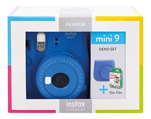 Instax Mini 9 Cobalt Blue Travel Set