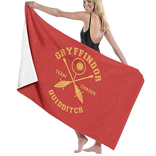 U/K Gryffindor Team Chaser Toalla de baño de secado rápido