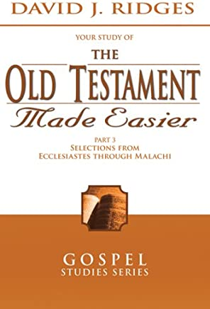 The Old Testament Made Easier, Vol. 3