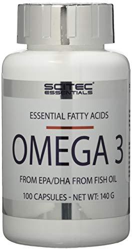 Scitec Nutrition Vitamin Omega 3, 100 Kapseln, 1er Pack (1 x 140g Dose)