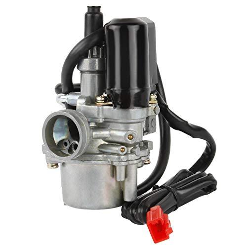 Kefflum Carburador, 17mm Roller Vergaser for Scooter Carburetor for Speedfight 1 & 2 50cc