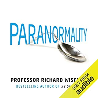 Paranormality audiobook cover art