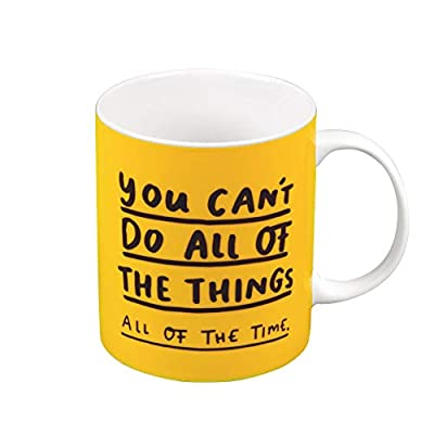 The Happy News Mug - You Can't Do All of The Things by The Happy News by Emily Coxhead