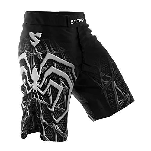 SMMASH - Pantalones cortos de MMA para hombre