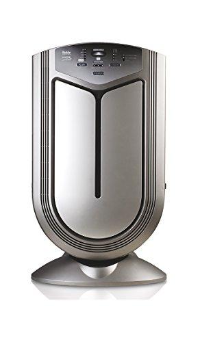 Fakir LR 600 Vigor Plus / Luftreiniger mit Ionisator, Aktivkohlefilter, Hepa-Filter, ( 6-fach Filter-System ) Timer-Funktion, Fernbedienung, Diagnose-Sensoren , für Allergiker & Raucher – bis 70 m2