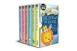Aesop's Fables Box Set 1: The Lion and the Mouse and Other Stories by [Reading Eggs]
