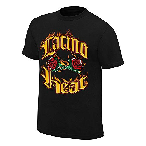 WWE Eddie Guerrero Can You Stand The Heat Retro T-Shirt, Herren, schwarz, Medium