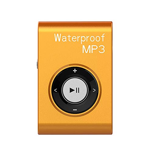 IPX8 Waterproof Swimming MP3 Player Built-in 8GB MP3 Music with FM Radio Hi-Fi Headphone for Diving Surf Underwater Sports Running - Yellow