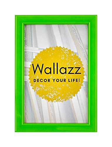 Wallazz Cornice PORTAFOTO in Legno da Parete, Made in Italy, Stile COLORATO, Dimensione 21X29,7 CM...